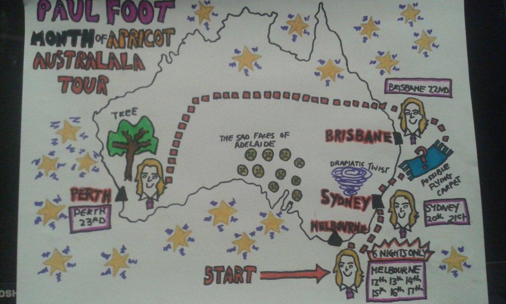 Paul Foot Australia Tour 2016